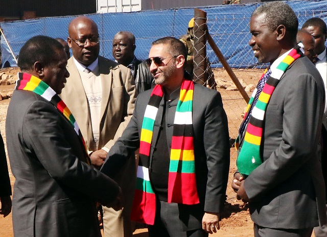 Mnangagwa launches hightech ferrochrome plant